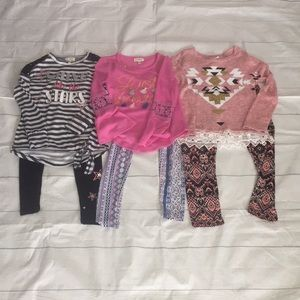 Self Esteem Girls Long Sleeve (3 outfits)